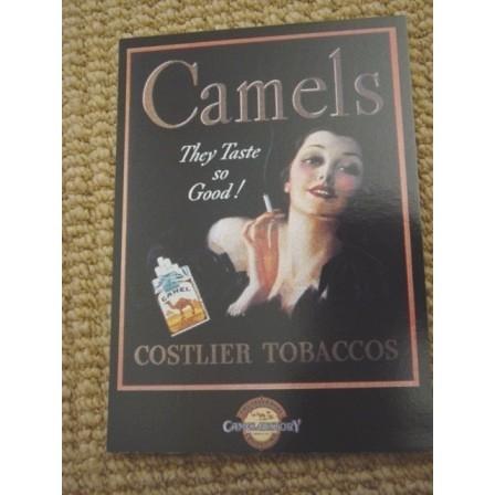 Camels advertising - tobacco - cigarette #TOB001