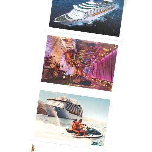 TRANSPORTATION -  ship 4 PCs MSC Voyager of the Seas #TR013