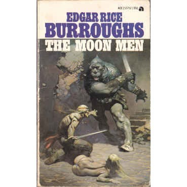 BURROUGHS Edgar Rice MOON MEN + RED HAWK