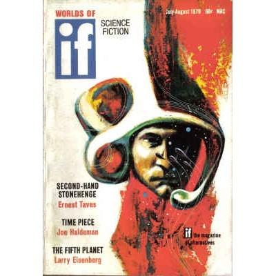 WORLDS OF IF 1970/ 8 Niven, Anthony, Haldeman