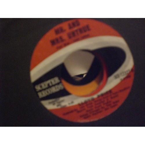 45 RPM: #7600.. LLOYD PRICE - MR. AND MRS. UNTRUE & NATURAL SINNER / VG+ / SCEPT