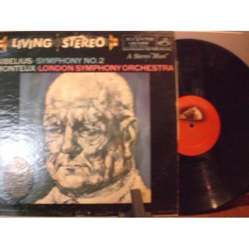 33 RPM: #2437.. MONTEUX - SIBELIUS SYMPHONY No. 2 / VG+ / RCA VICTOR LSC 2342