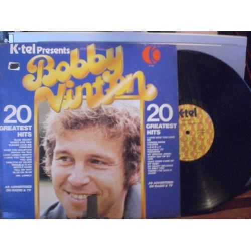 33 RPM: #2480.. BOBBY VINTON - 20 GREATEST HITS / VG+ / K-TEL NC 450