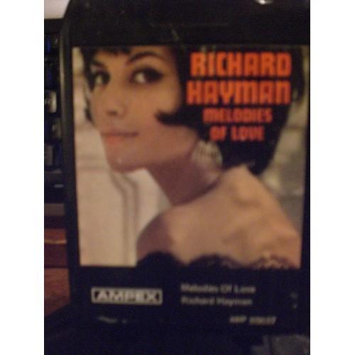 USED 8 TRACK: #1561.. RICHARD HAYMAN - MELODIES OF LOVE / AMPEX 80037