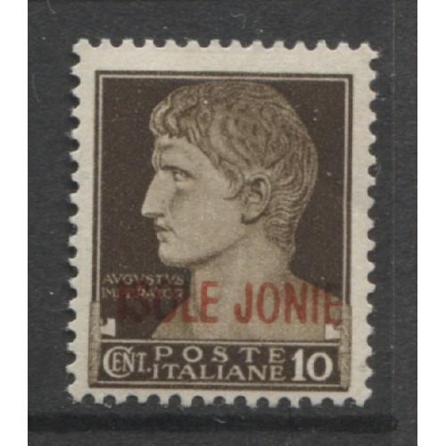 1941 IONIAN ISLANDS Italian occupation 10 c. with op  mint*, Scott # N19