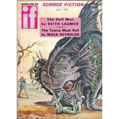 WORLDS OF IF 1969/ 7 Laumer, KOONTZ, Reynolds