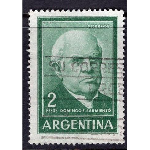 Argentina (1962-66) Sc# 742 (1) used