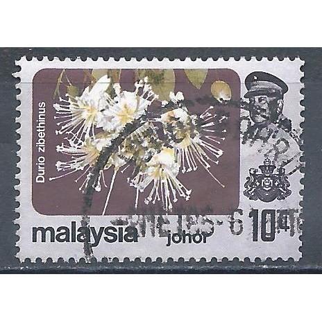 JOHORE 1984 – Used Sc. 186a. CV $1.40
