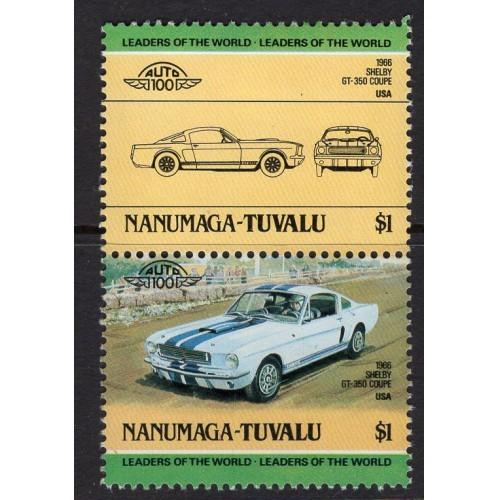Tuvalu-Nanumaga (1984) Sc# 19 MNH