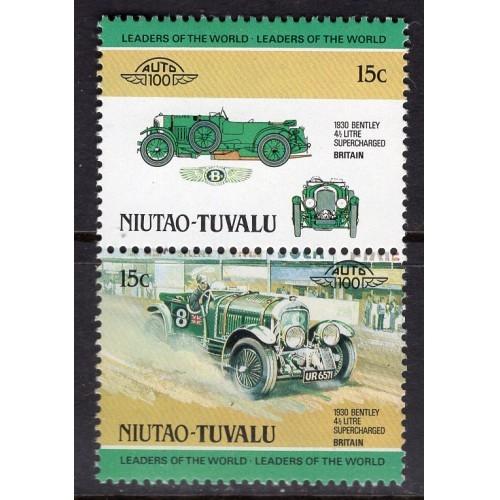 Tuvalu-Niutao (1984) Sc# 1 MNH