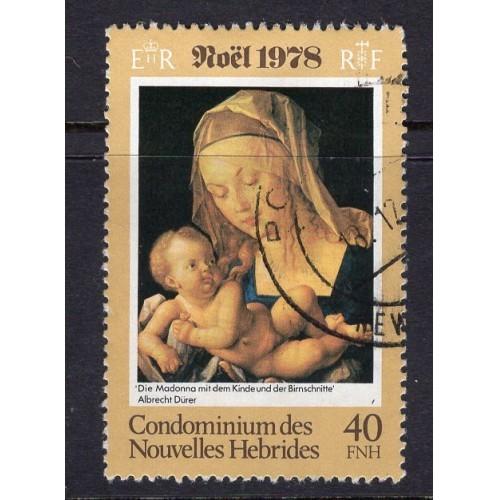 New Hebrides FR (1978) Sc# 282 used