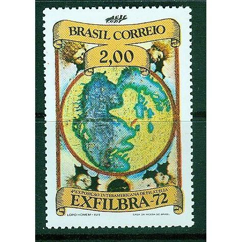 Brazil (1972) Sc# 1241 MNH
