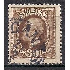 (SW) Sweden Sc#  62  Used (1557)