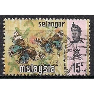 (MY) Malaysia (Selangor) Sc# 133b Used (2907)