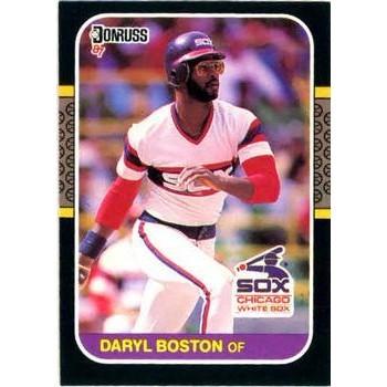 Daryl Boston - Chicago White Sox 1987 Donruss Baseball Card