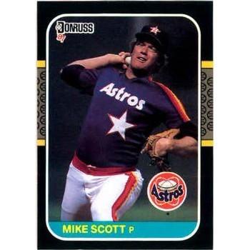 Mike Scott - Houston Astros 1987 Donruss Baseball Card
