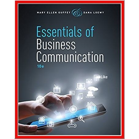 Essentials of Business Communication 10th Edition - PDF eBook - FREE shipping