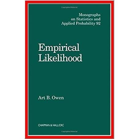 Empirical Likelihood by Art B. Owen - PDF eBook