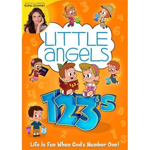 LITTLE ANGELS: 123'S - DVD - by Roma Downey