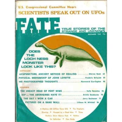 FATE Magazine 1968/12 Acupuncture / UFOs / Loch Ness