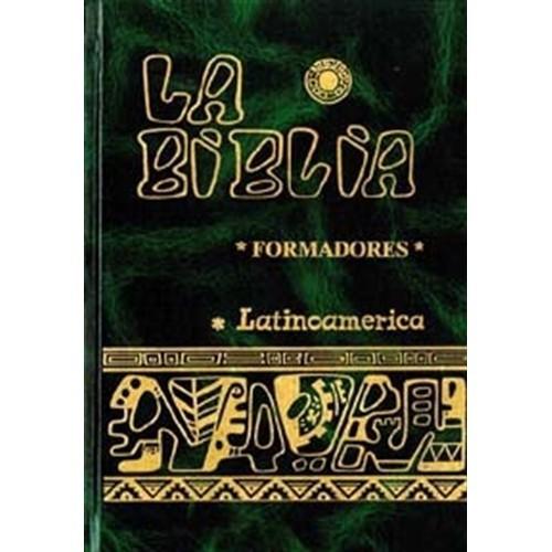 BIBLIA LATINOAMERICANA INDICES gran tamaño Biblia – verde