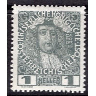 Austria (1908-16) Sc# 110a MH