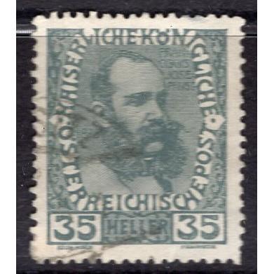 Austria (1908-16) Sc# 120 used