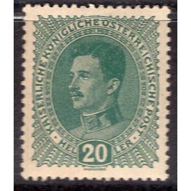 Austria (1917-18) Sc# 169 MH