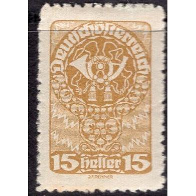 Austria (1919-20) Sc# 207 MH