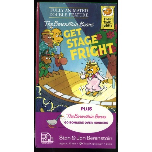 """The Berenstain Bears GET STAGE FRIGHT"" #9 - NEW, SEALED Fully Animated"