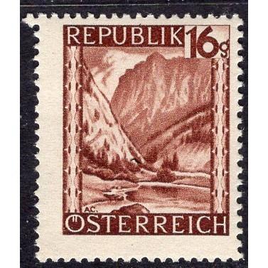 Austria (1945-46) Sc# 463 MH