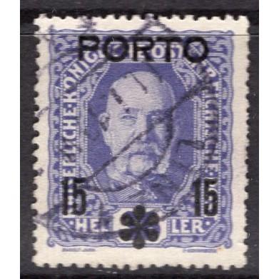 Austria (1917) Sc# J61 used