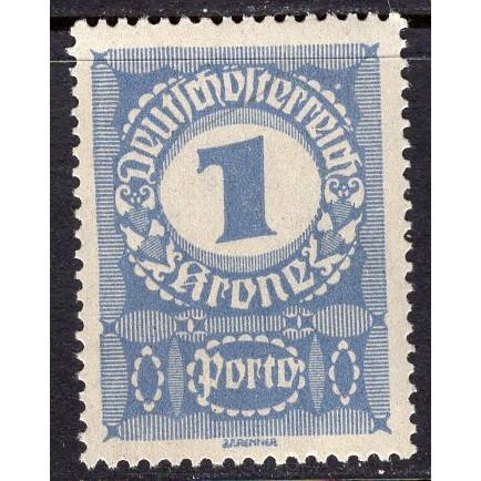 Austria (1920-21) Sc# J84 MNH