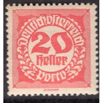 Austria (1920-21) Sc# J78 MH