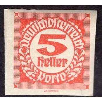 Austria (1920-21) S# J93 MNH