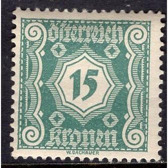Austria (1922) S# J109 MH
