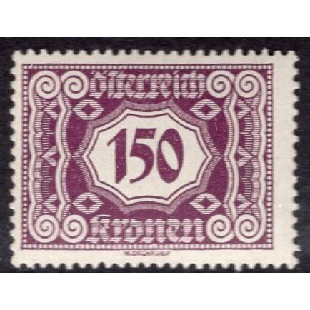 Austria (1922-24) S# J119 MH