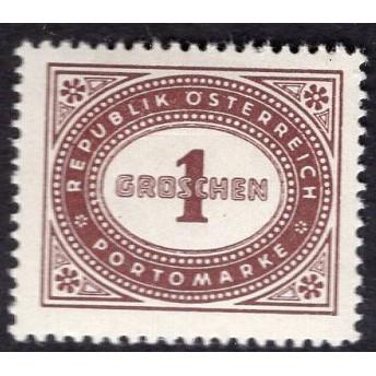 Austria (1947) J204 MH