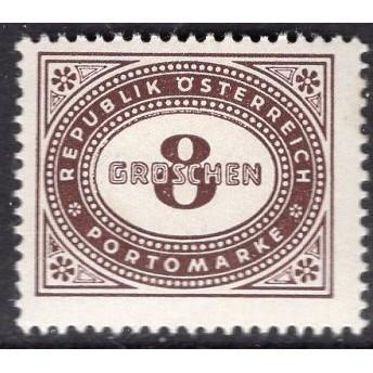 Austria (1947) J208 MH