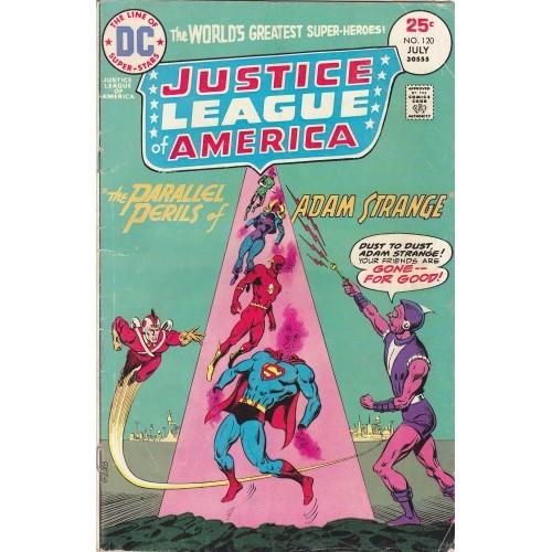 Justice League - DC 1975 Comic Book #120 - Good