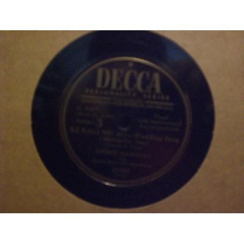 78 RPM: #3435 GEORGE KAINAPUA (vocals) KE KALI NEI AU / VG+ / DECCA 27097