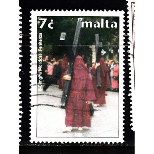 Malta  Scott 1239  Used