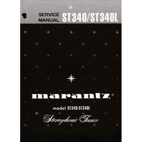 Marantz - ST340/ST340L Tuner Service Manual