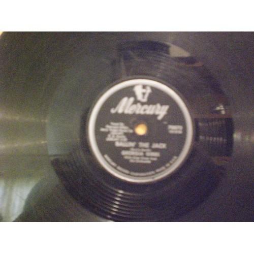78 RPM:  #735.. GEORGIA GIBBS - BALLIN' THE JACK & DANCE WITH ME HENRY / MERCURY