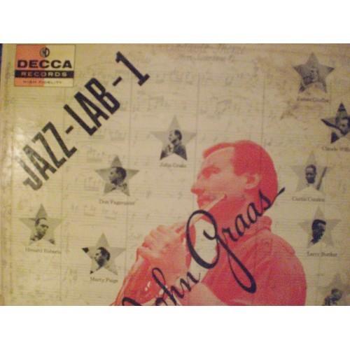 33 RPM JAZZ: #959.. JOHN GRAAS - JAZZ-LAB-1 / 1956 DECCA DL 8343 / VG