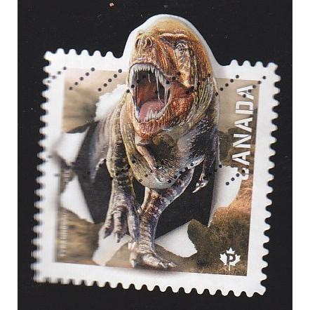 Canada 2823c Tyrannosaurus Rex from SS (embossed)