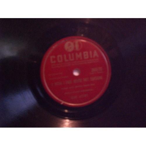 78 RPM: #3468 GENE AUTRY - I WISH I HAD NEVER MET SUNSHINE / VG+  COLUMBIA 36970