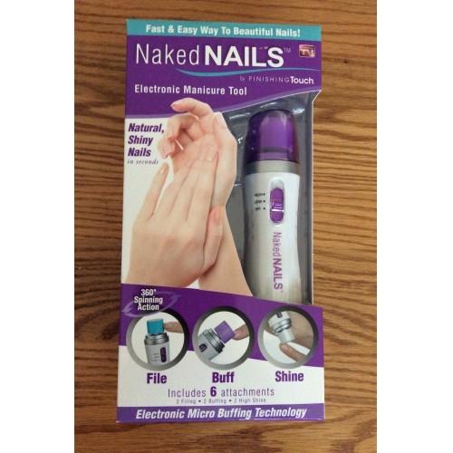 Naked Nails Electronic Manicure Tool Kit
