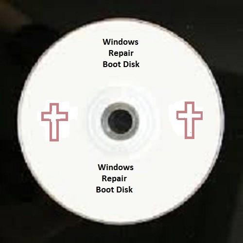 Windows 8.1 Restore Repair Boot disk 32-bit System Install Boot CD disc