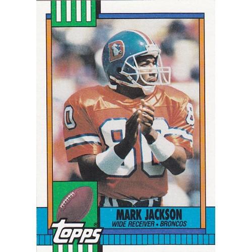 Mark Jackson - Broncos 1990 Topps Football Trading Card #41